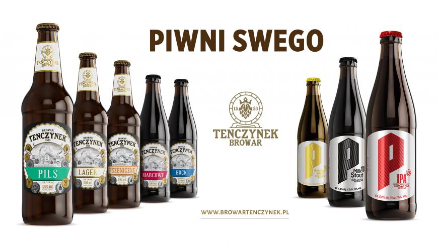 Przedstawiamy partnerów i sponsorów - Browar Tenczynek.