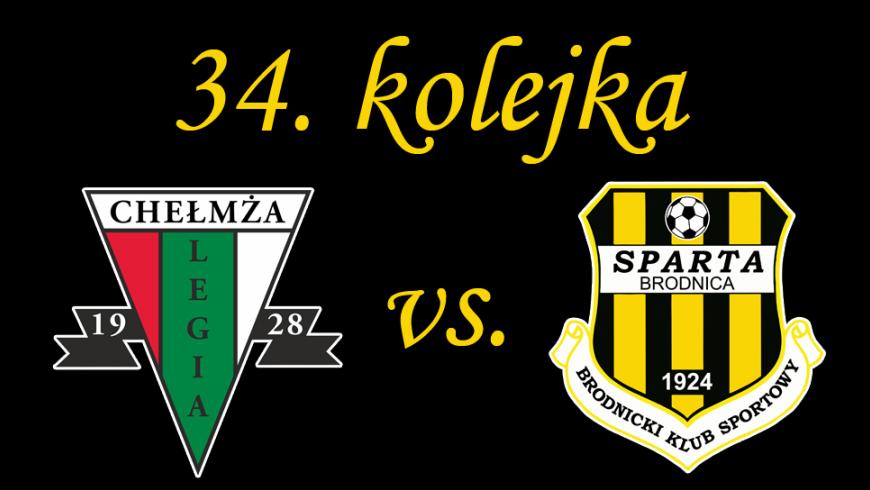 34. kolejka: Legia Chełmża vs. Sparta