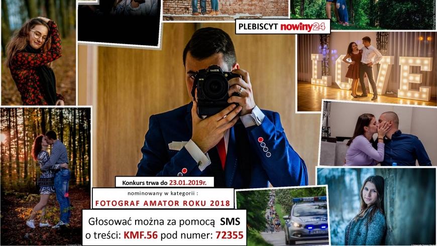 Tomasz Chrobak- fotograf ALPH Zarzecze nominowany w konkursie NOWINY 24
