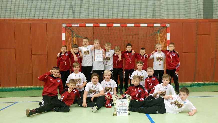 III i VII miejsce w Ogólnopolskim halowym turnieju piłki nożnej o Puchar Burmistrza Lidzbarka