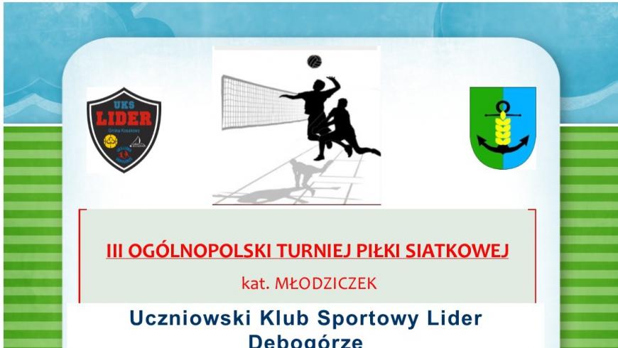 III Ogólnoplski Turniej Piłki Siatkowej o Puchar Wójta Gminy Kosakowo