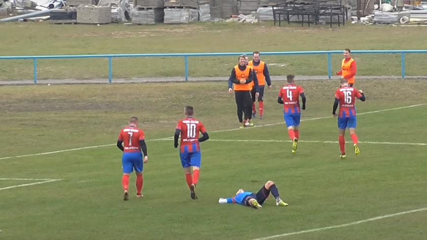 Skrót meczu KS Wasilków - Warmia Grajewo 1:2