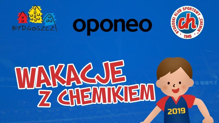 Zapraszamy na Oponeo Wakacje z Chemikiem 2019!