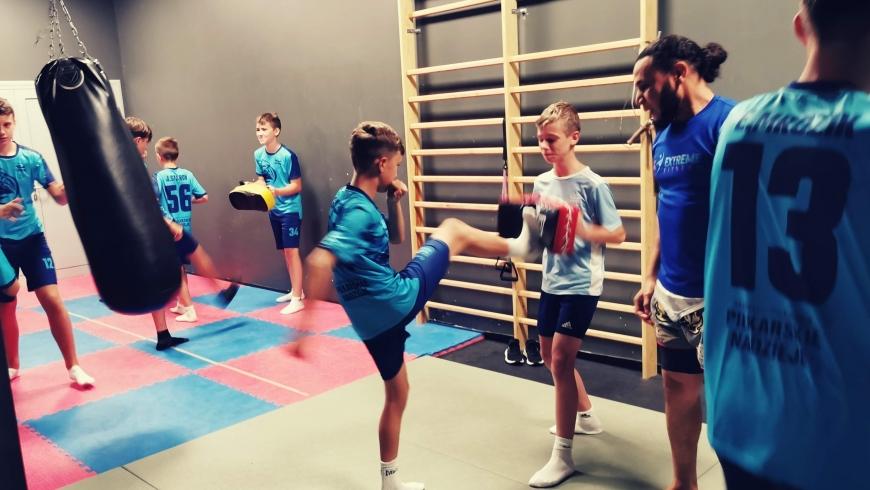 Sztuki walki na zajęciach sportowych w MSMS Piłkarskie Nadzieje
