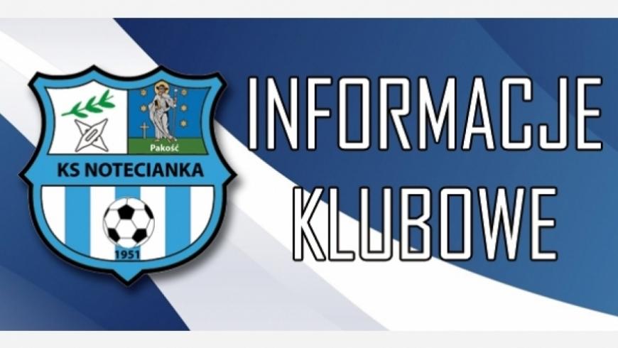 Komunikat odnośnie meczu z K.S Unia Janikowo