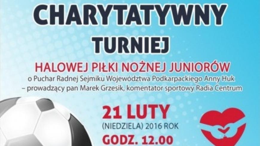 Turniej charytatywny w Radymnie - 21.02.2016r.