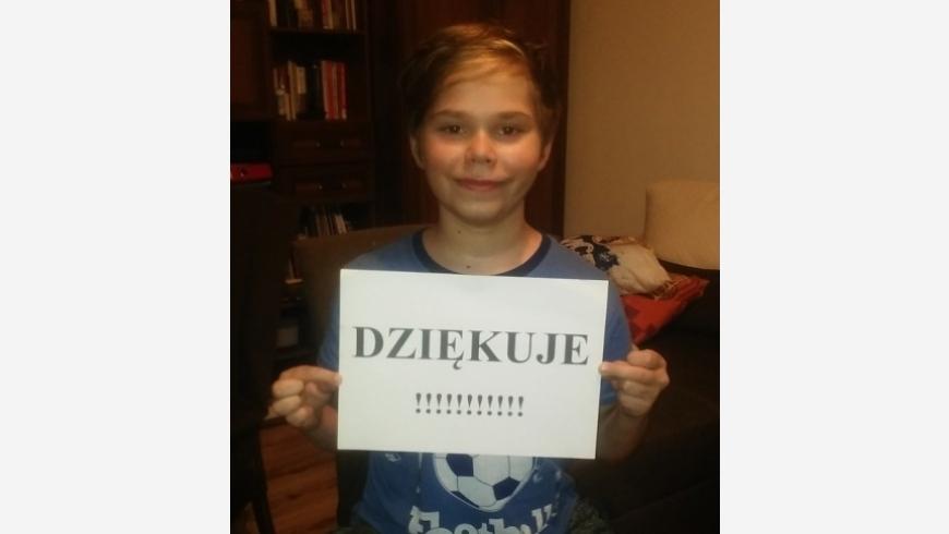 II BODEX CUP: Zebraliśmy 2301,50 zł dla Krystiana