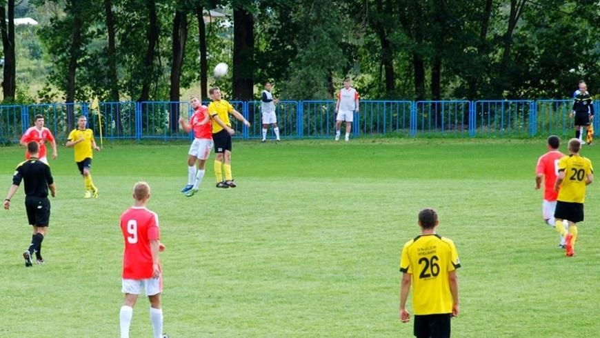 IV kolejka: DKS Dobre Miasto - Omulew Wielbark 3:3 (3:0)