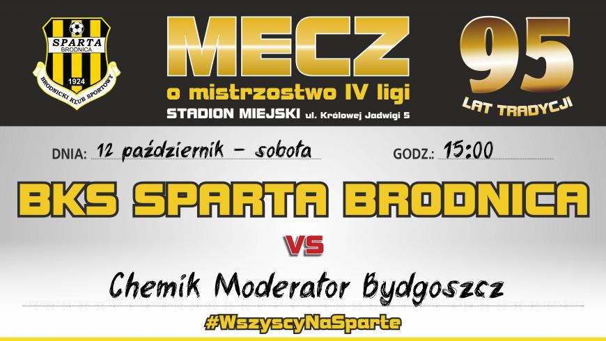 11. kolejka: Sparta vs. Chemik Bydgoszcz