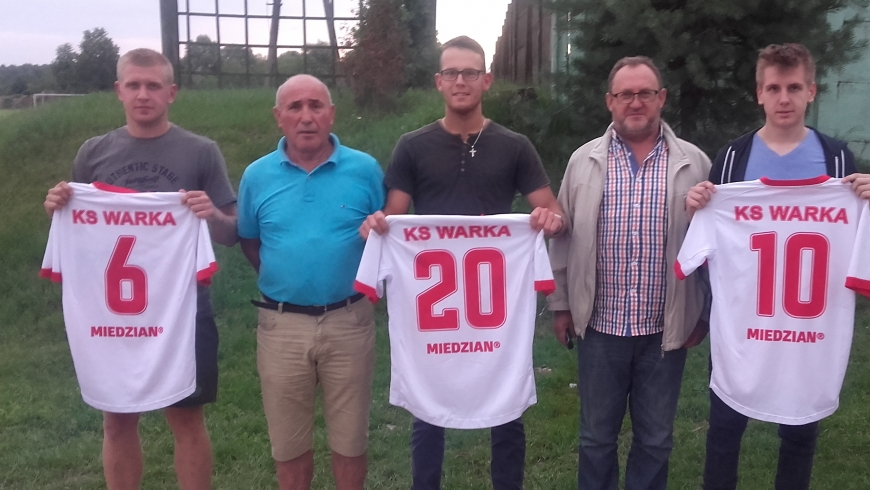 Nowi zawodnicy w KS Warka
