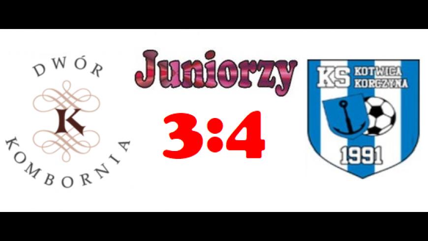Porażka juniorów z Korczyną