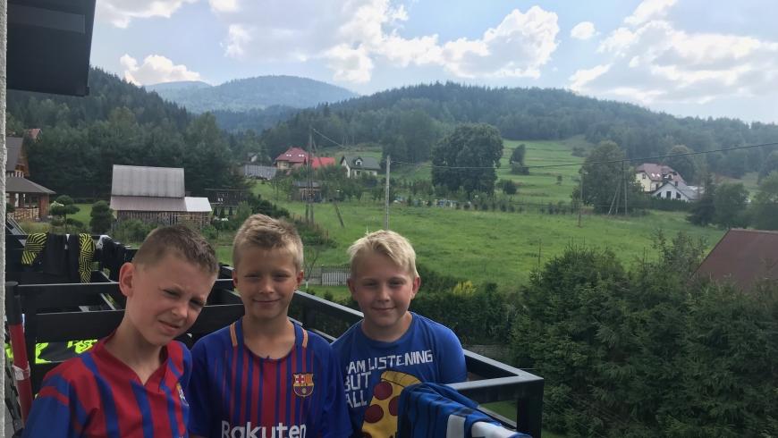 Obóz piłkarski w Zawoi – Dzień 2