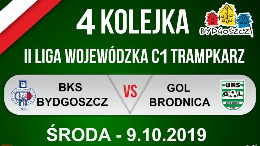 Zapowiedź IV kolejki: BKS Bydgoszcz - Gol Brodnica