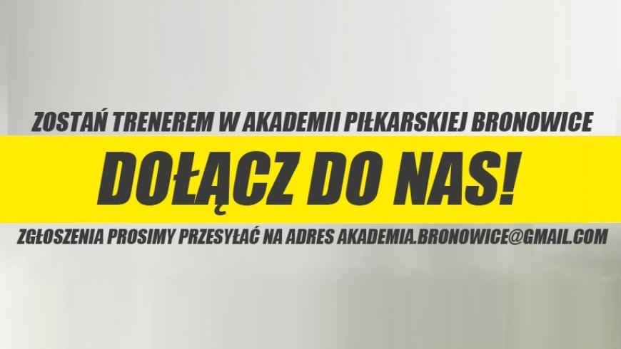 Nabór trenerów do pracy w Akademii...