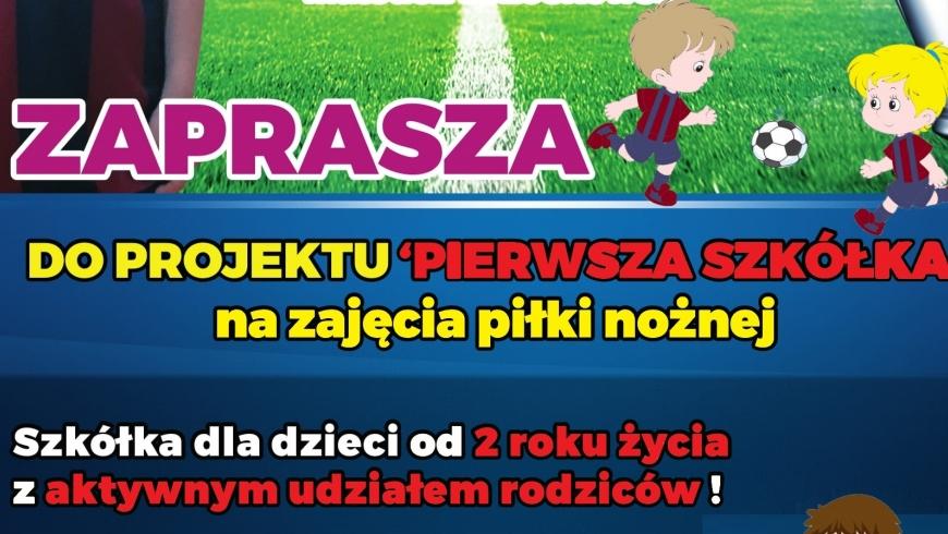 Od 10.09.2019 zajęcia Pierwszej Szkółki!