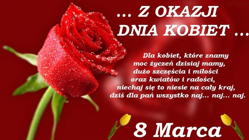 Najlepszego z okazji Dnia Kobiet!!!
