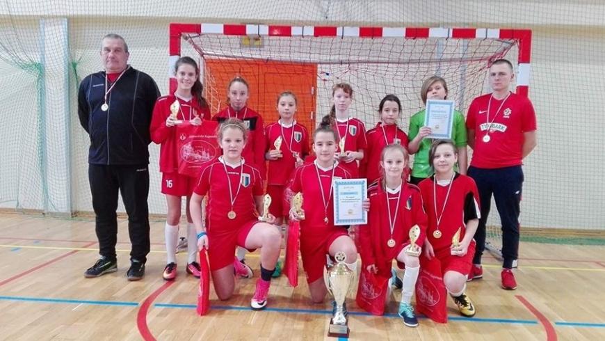 Tęcza Mistrzem Województwa w Futsalu U-13