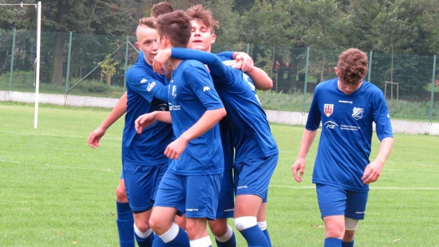 Trzy zwycięstwa drużyn młodzieżowych