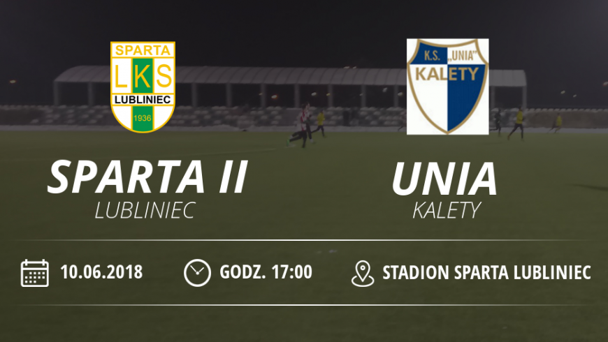 """Realcja meczu LKS """"Sparta II"""" Lubliniec vs Unia Kalety"""