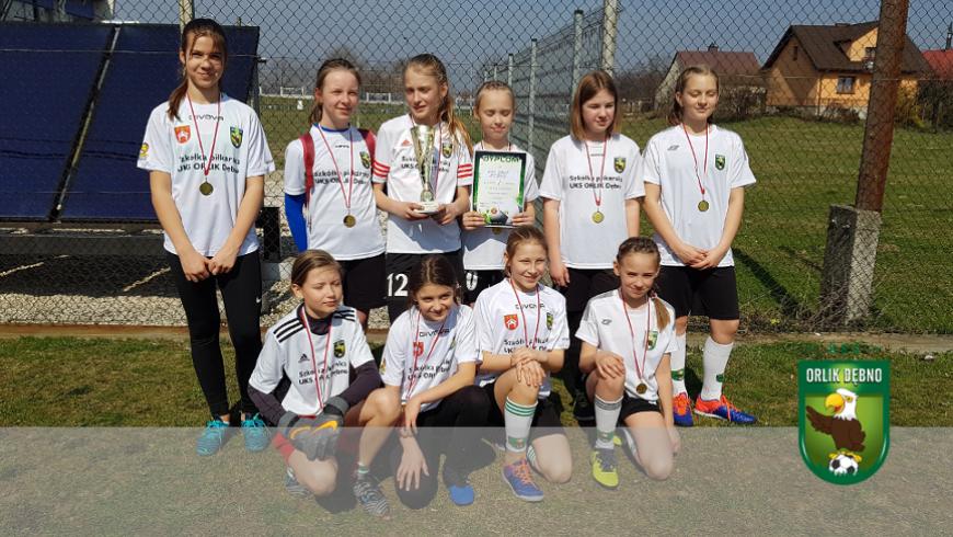 Dziewczynki wygrywają w Brzesku