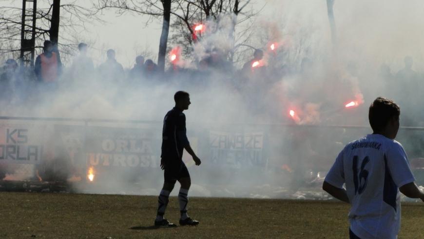 2018-03-25 Seniorzy : Orla Jutrosin 2 - 1 Sarnowianka Sarnowa