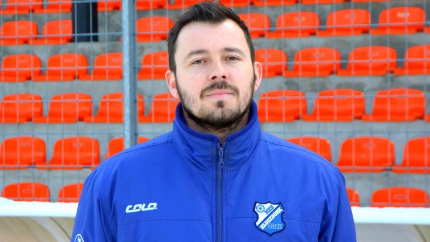 Grzegorz Świtała z licencją UEFA A