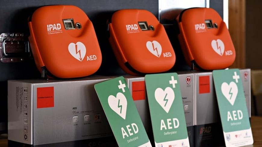 Defibrylator AED na obiekcie Orła Myślenice!