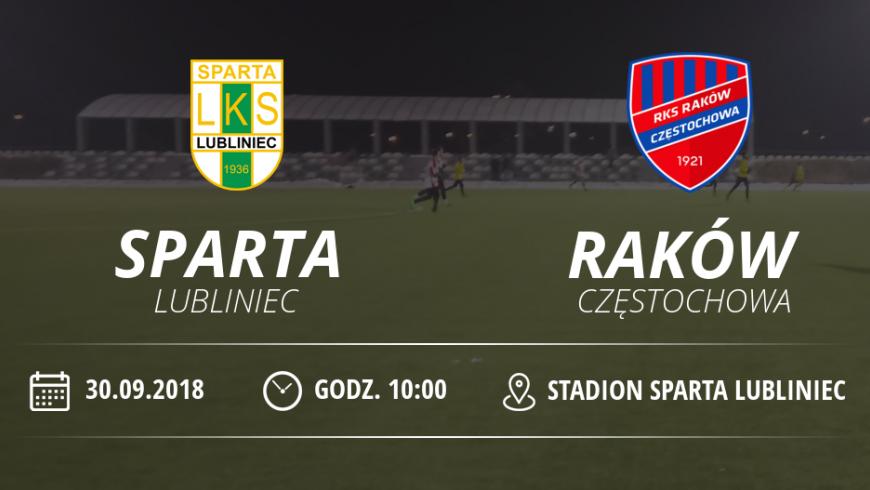 """Juniorzy LKS """"Sparta"""" Lubliniec vs Raków Częstochowa"""
