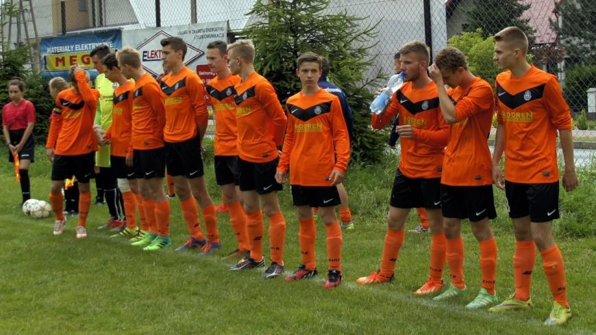 Juniorzy w ostatnim meczu sezonu remisują z Victorią 2:2