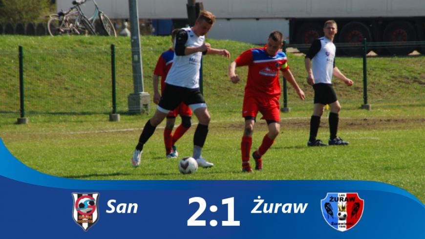 Mecz walki: San 2-1 Żuraw