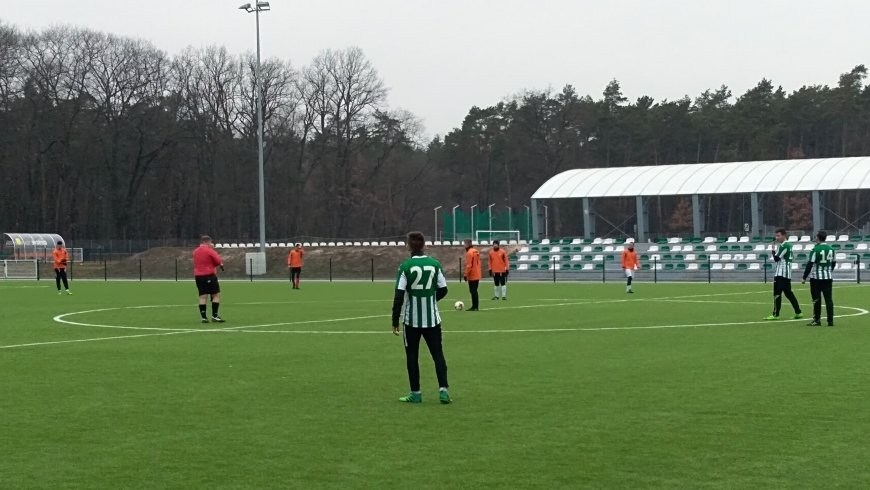 "Relacja sparingi LKS ""Sparta"" Lubliniec vs Górnik Bobrowniki"