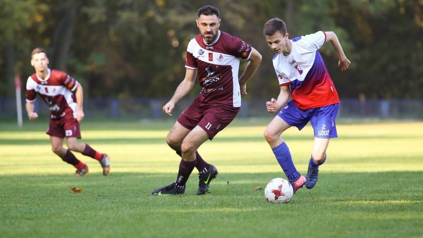 8. kolejka: Kolejarz Łódź - Sparta Łódź 2:6 (1:3)