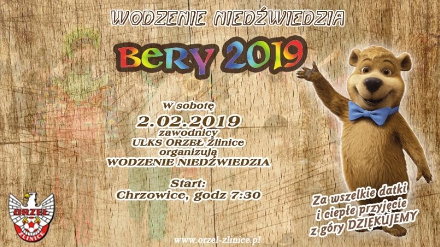 """"""" Wodzenie niedźwiedzia """" - zapraszamy 2.02.2019 !!!"""