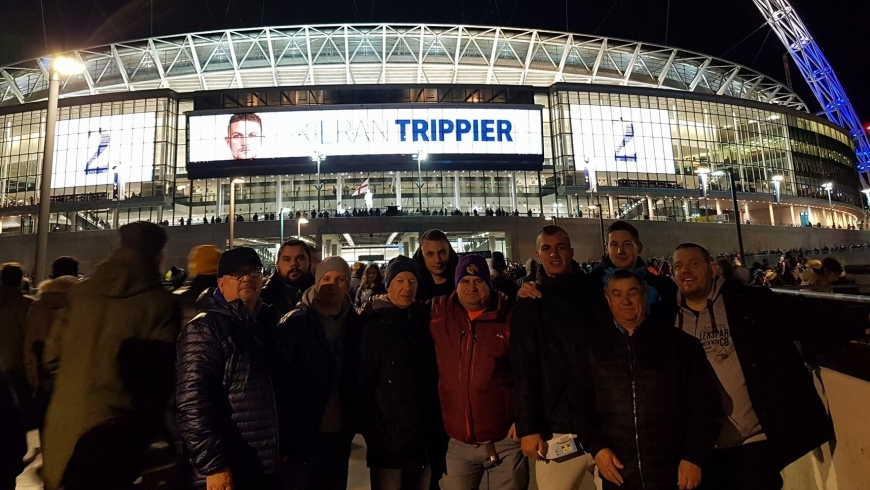 Najlepsi zawodnicy CALF I CZLF na meczu Tottenham Hotspur - Manchester United