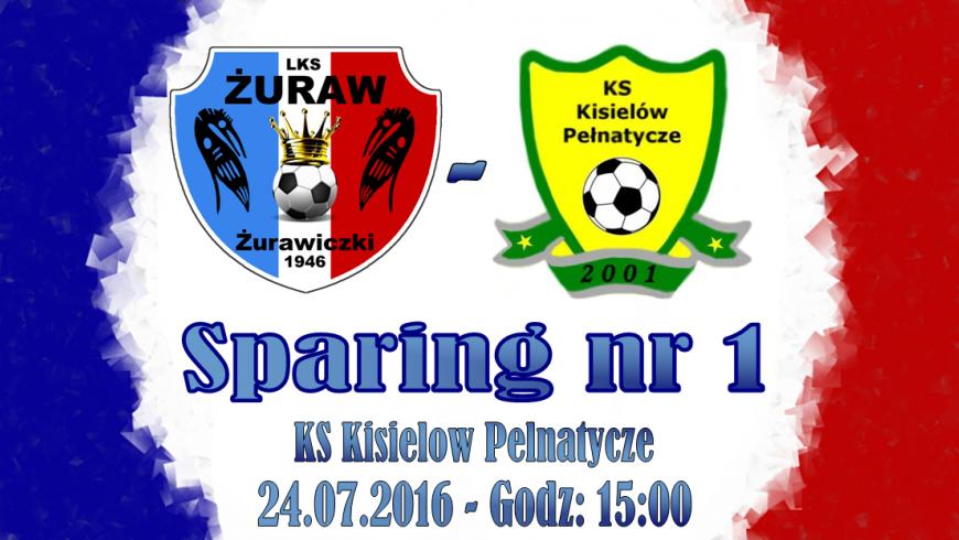 Sparing nr 1 - KS Kisielów-Pełnatycze