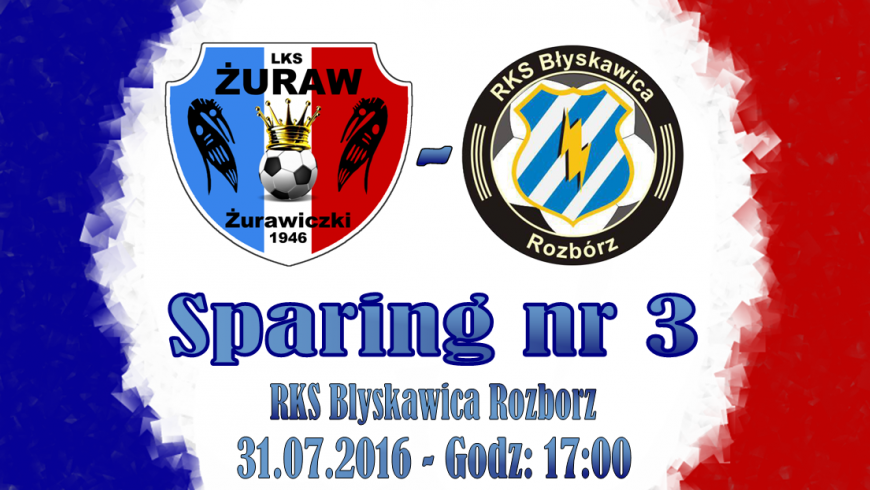 Sparing nr 3 - RKS Błyskawica Rozbórz !