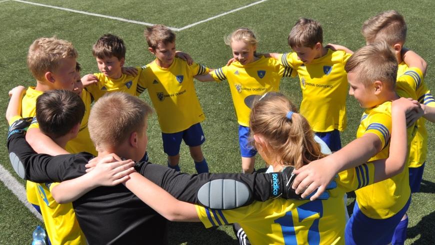 Orlik E1 - mecz mistrzowski AP Dębiec - 09.09.2017