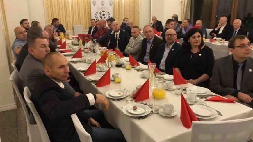 Spotkanie opłatkowe OZPN Konin oraz Górnika Konin
