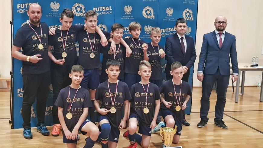 Rocznik 2006 futsalowym mistrzem Podkarpacia!