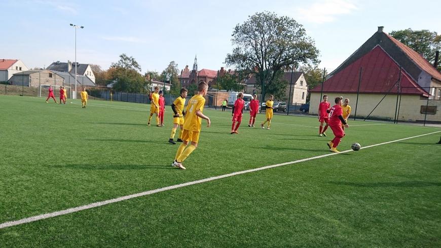 Kolejne zwycięstwo ligowe naszej drużyny U-15