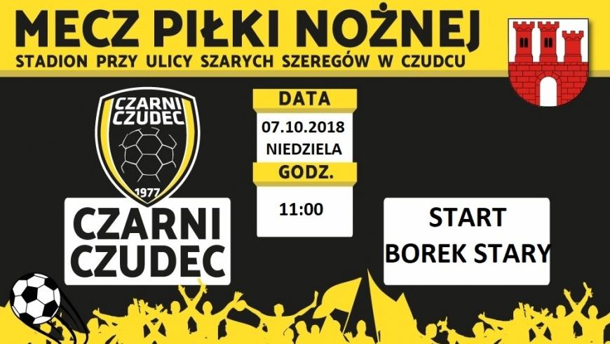 8. Kolejka: Czarni Czudec - Start Borek Stary