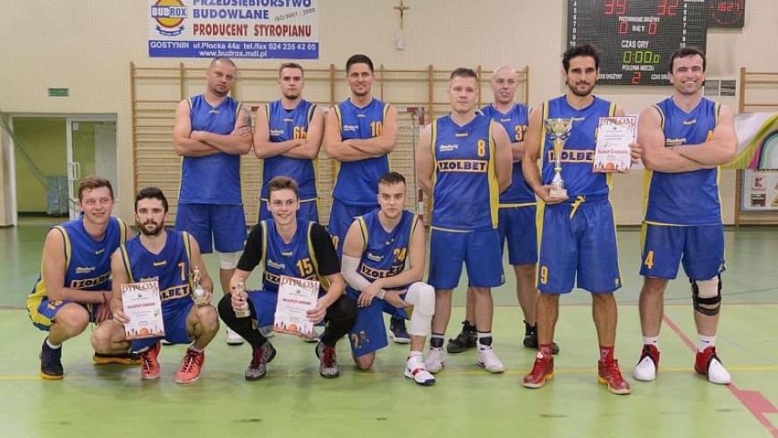 Koszykarze Basket Gostynin wygrali Turniej Mistrzów