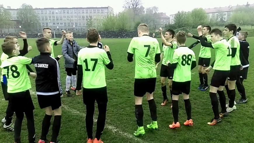 RUCH RADZIONKÓW - MKS ZABORZE 0 : 1 (0 : 0)