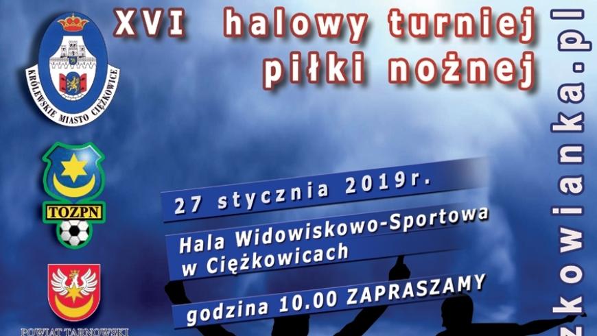 27 stycznia Halowy Turniej Piłki Nożnej - Ciężkowice 2019