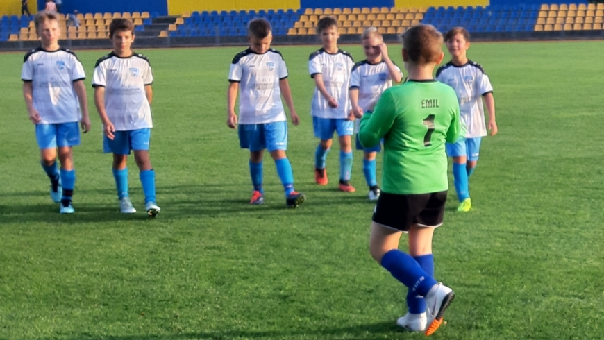 Dwie wygrane w lidze młodzika