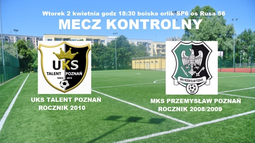 Sparing rocznika 2010 z MKS Przemysław Poznań