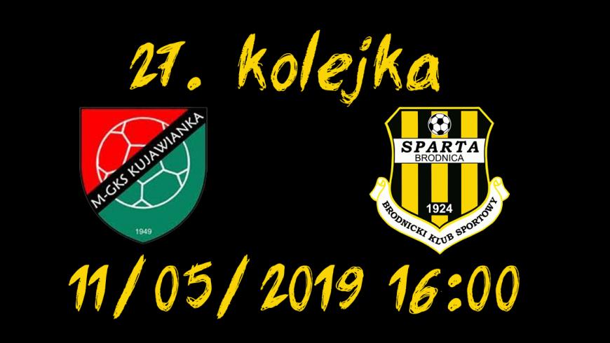 27. kolejka: Kujawianka Izbica Kujawska vs. Sparta