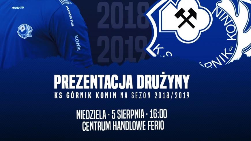 Prezentacja drużyny przed sezonem 2018/19!