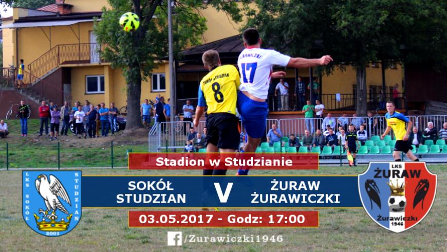 Pojedynek beniaminków: Sokół Studzian - Żuraw