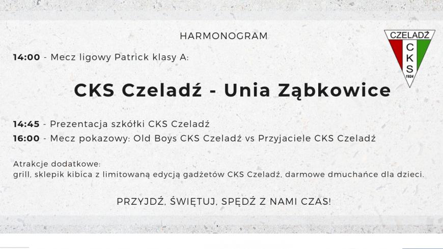 95 lecie CKS Czeladź - Program obchodów!